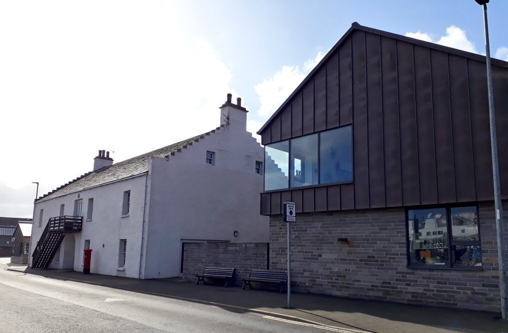 Stromness Library in the Warehouse Buildings