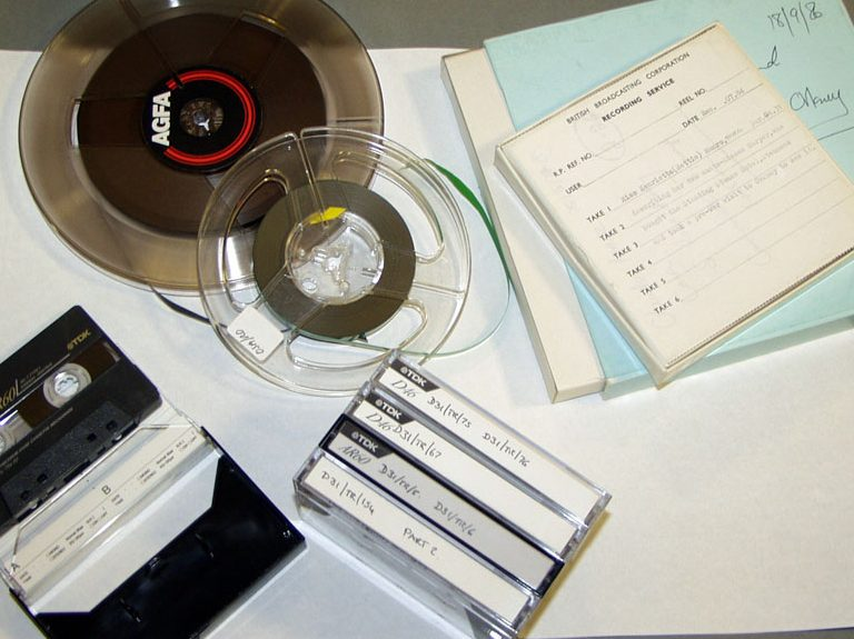 Sound archive materials