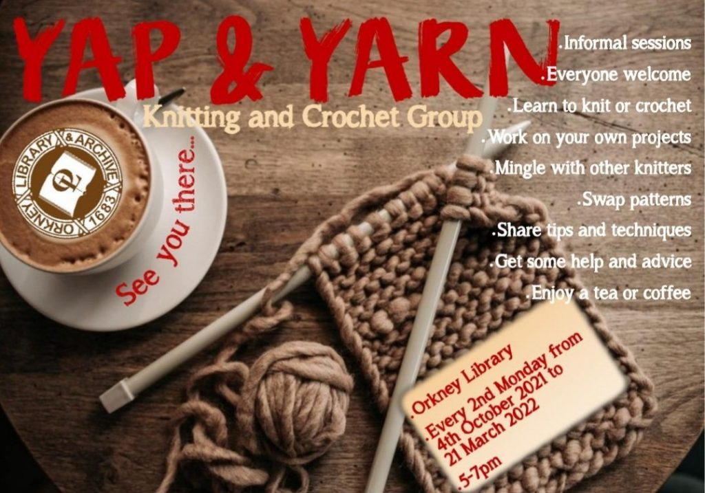 Yap and Yarn Poster
